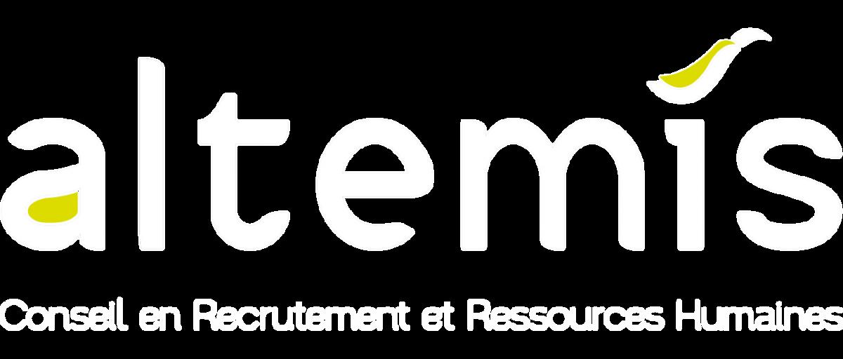 Altemis – Partenaire de vos recrutements - Logo blanc Rétina